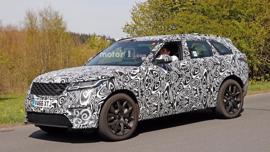 SVR-Tuned Land Rover Range Rover Velar Spied At The Ring