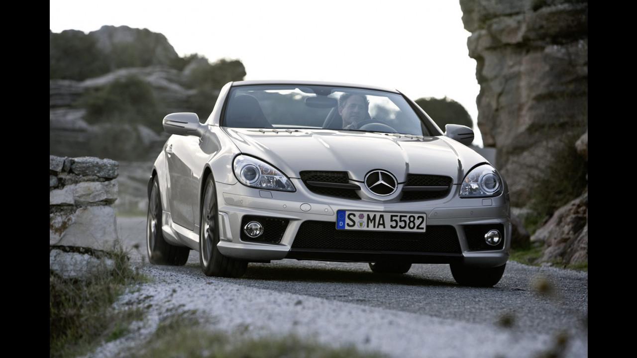 Mercedes SLK 55 AMG Restyling