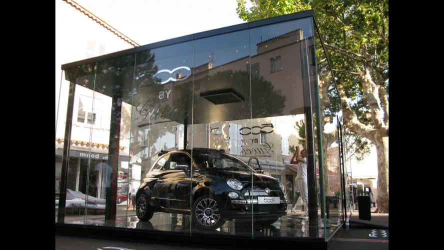 Fiat 500C by Gucci, da Saint Tropez parte il tour di lancio