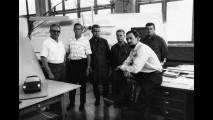 Heinrich Klie, Hans Ploch, Hans Springmann, Ernst Bolt e F.A. Porsche al