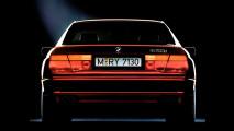 BMW Serie 8, immagini storiche
