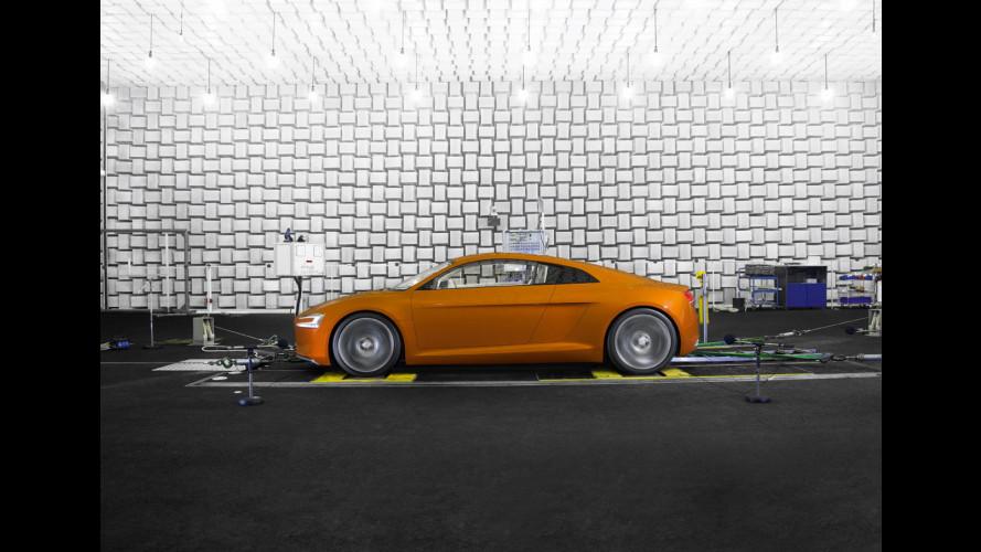 L'Audi elettrica avrà il rumore della RSQ di