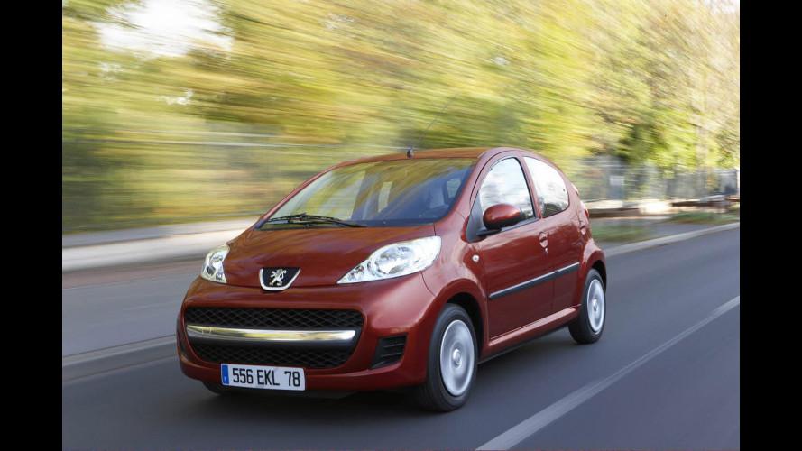 Prodotta la Peugeot 107 numero 500.000
