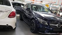 Mercedes-Benz C43 Factory Spy Shots