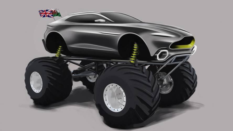 Aston Martin revela o Project Sparta, um monster truck de 1.100 cv