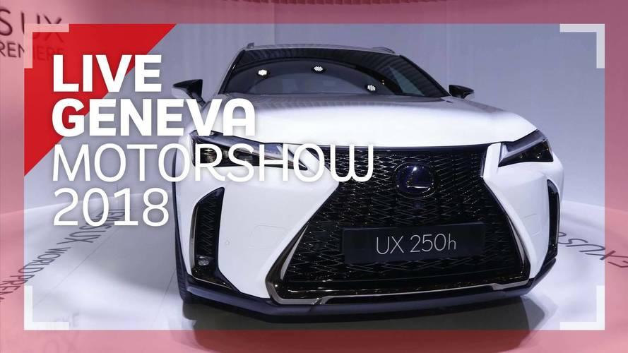 Genève 2018 - Le Lexus UX en vidéo
