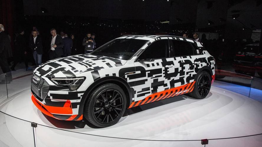 Genève 2018 - Audi expose son e-tron électrique