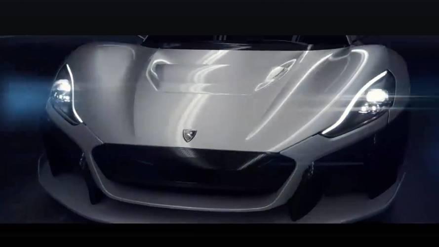 VIDÉO - La nouvelle supercar de Rimac se montre un peu plus