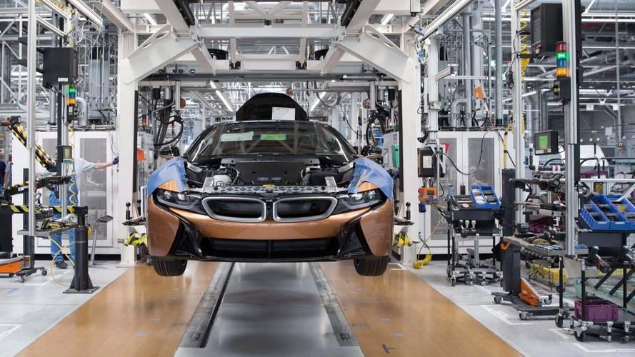 Megkezdődött a BMW i8 Roadster gyártása