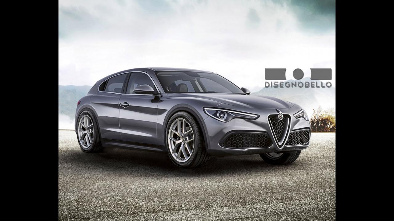 Nuova Alfa Romeo Giulietta rendering Disegnobello