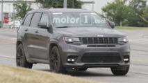 Jeep Grand Cherokee Trackhawk Spy Photos