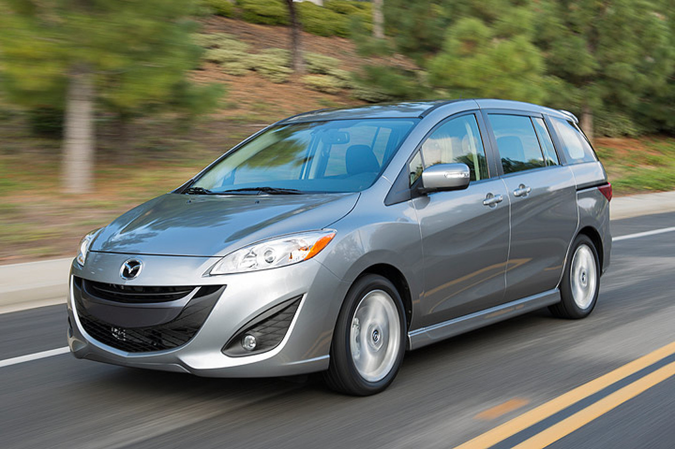 Mazda Has Officially Killed the Mazda5 Minivan for 2016