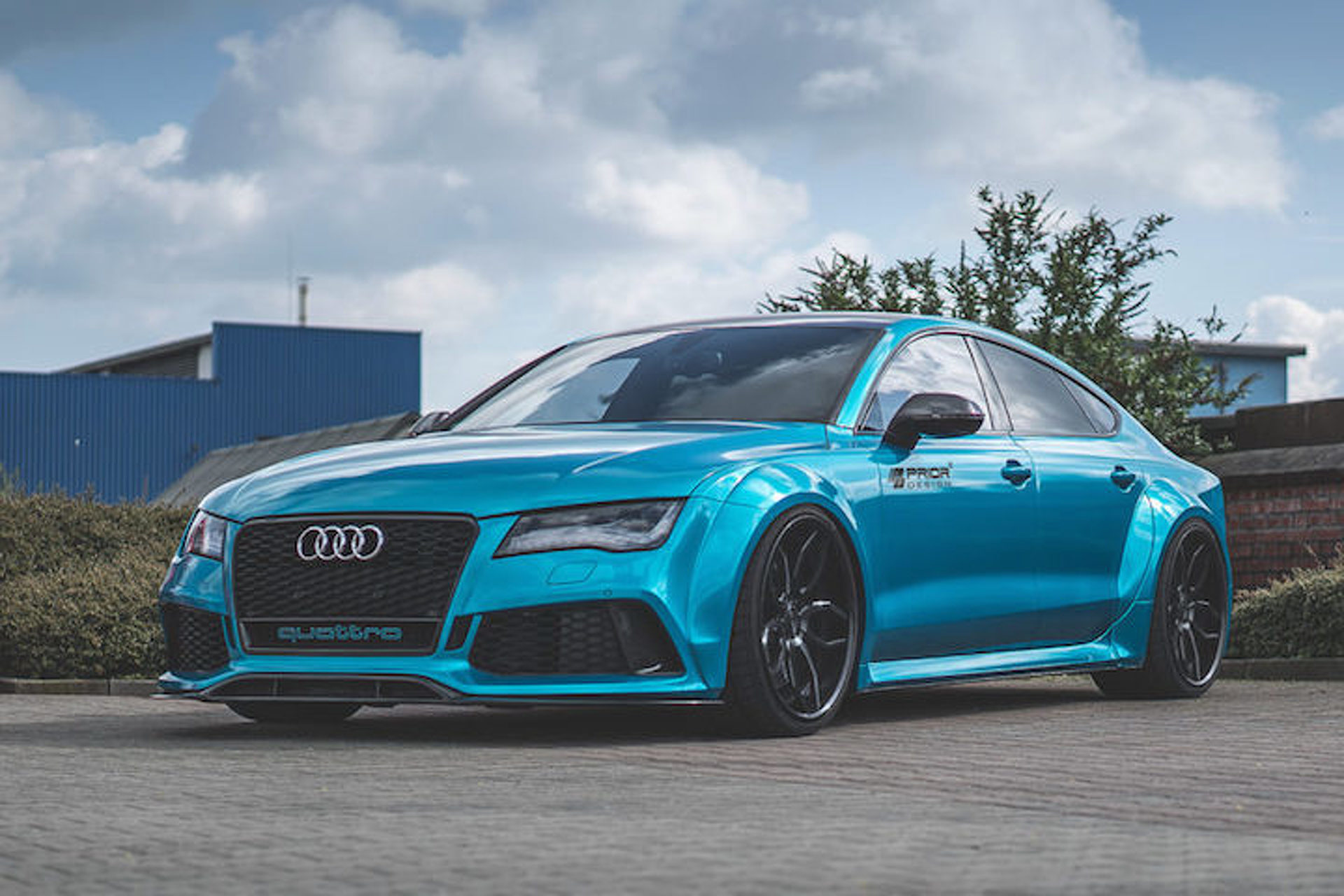 This Widebody Audi RS 7 is a Magnificent Beast