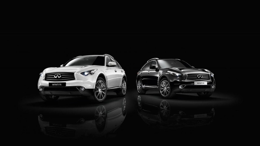 Infiniti FX Black and White edition revealed for Europe