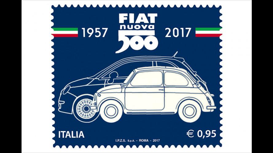 Fiat 500: Ehrung mit Briefmarke