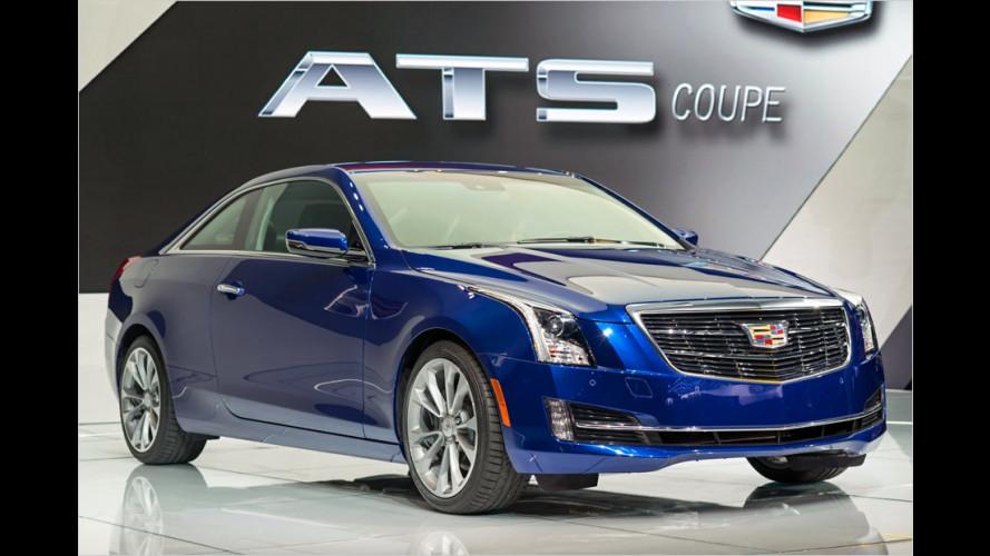 Cadillac ATS: Das Coupé startet