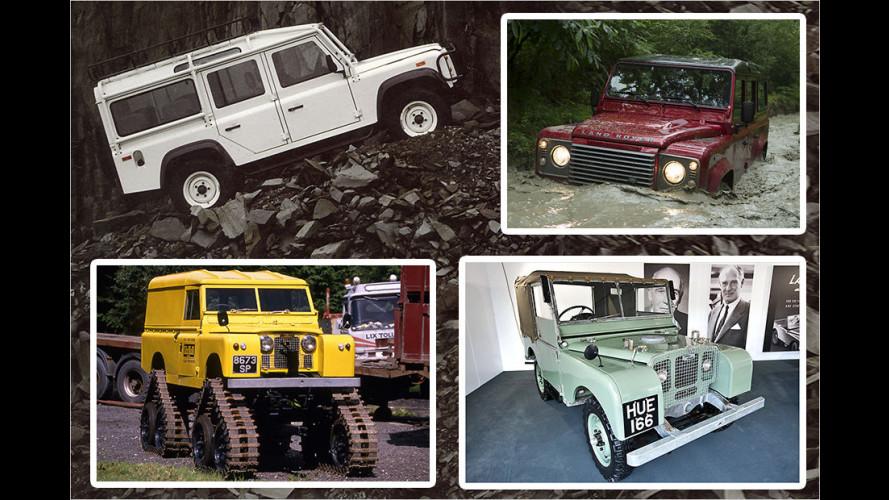 Rente mit 67: Der Land Rover Defender wird Ende 2015 eingestellt