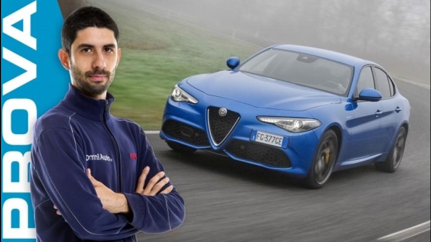 """Alfa Giulia Veloce Q4: """"integralista"""", ma equilibrata [VIDEO]"""