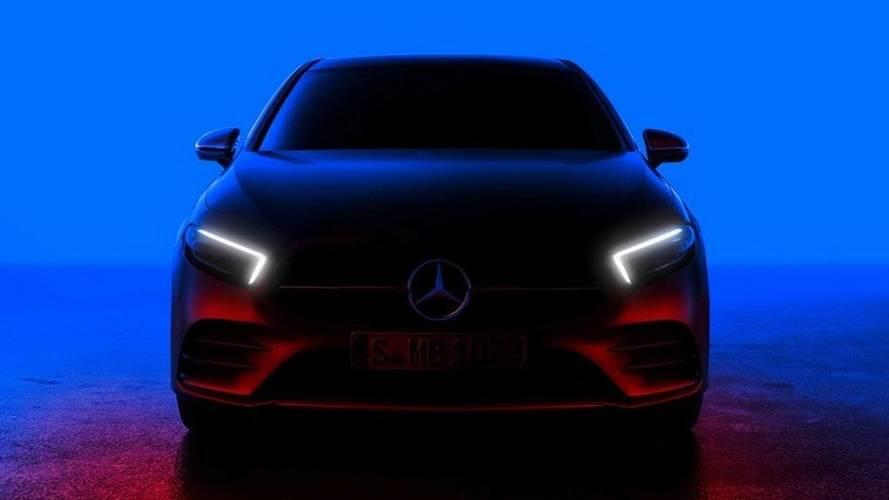 2018 Mercedes-Benz A-osztály teaser