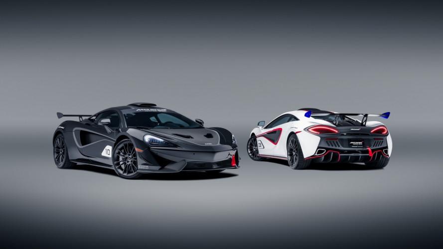 McLaren MSO X, specialissima con l'abito da corsa