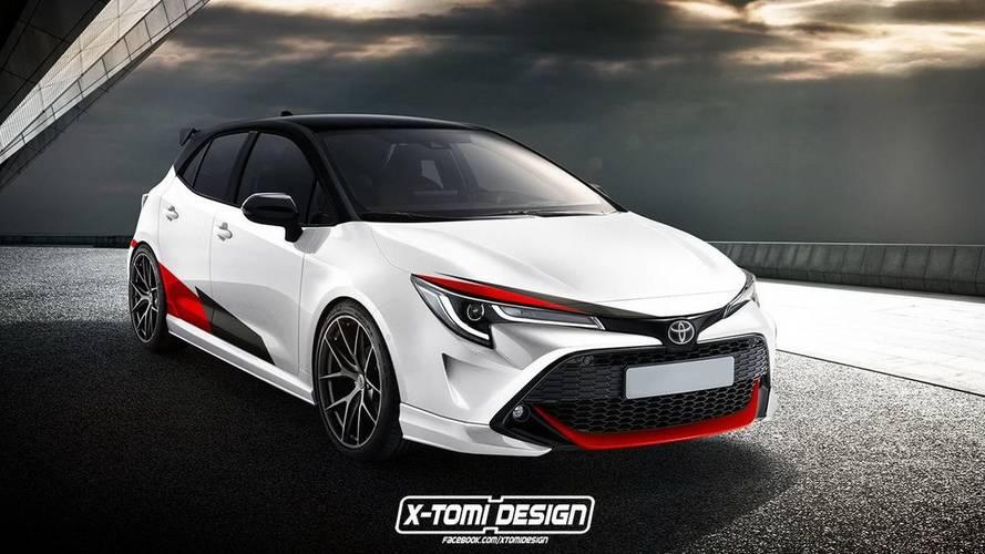 Toyota Auris GRMN, un render impactante
