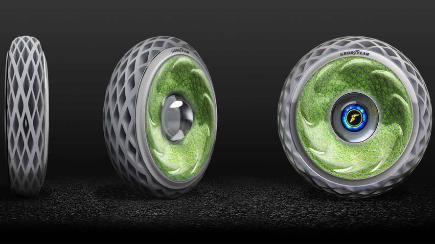 Goodyear Concept Tire Is A Rolling Stone That Does Gather Moss