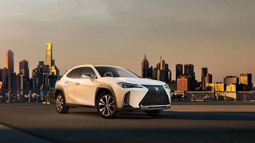 Lexus UX Shows Off Bold Design In First Official Images, Video