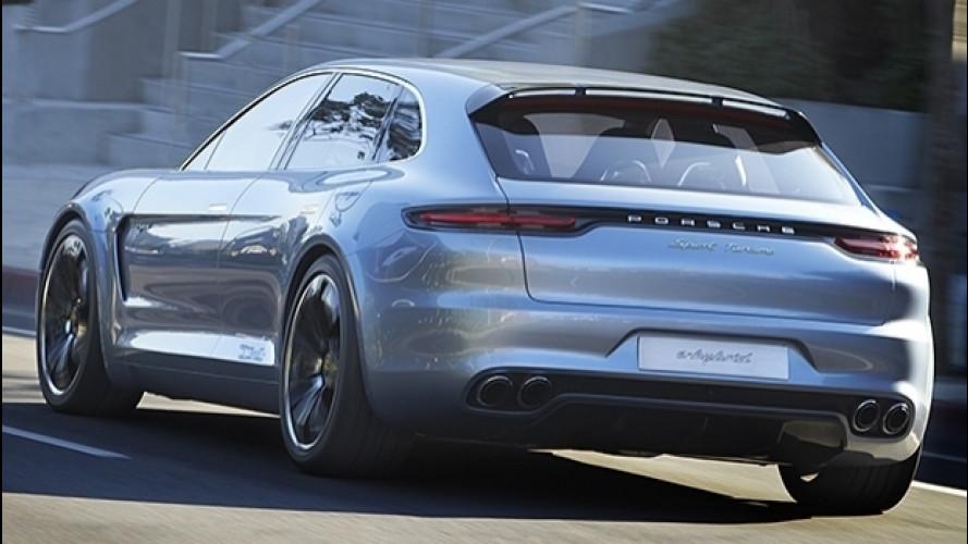 Porsche Panamera Sport Turismo, la vedremo a Ginevra