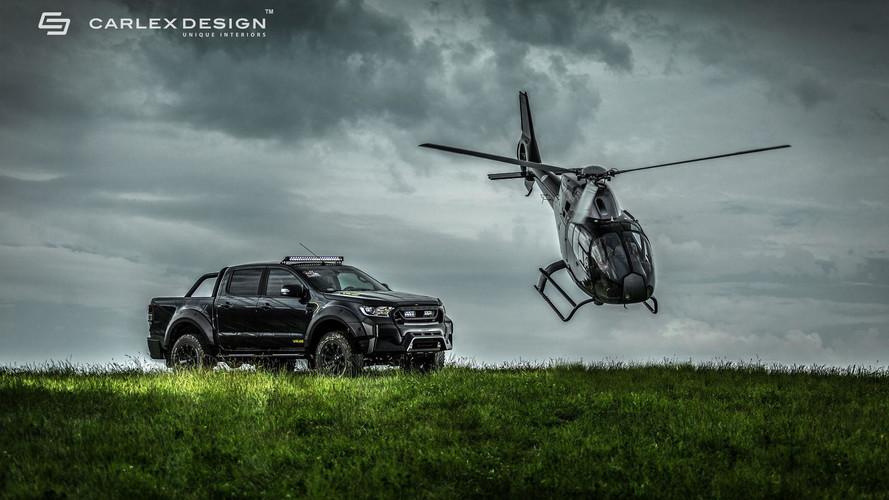 Tuning - Un Ford Ranger VR46 baroudeur signé Carlex Design et MS-RT