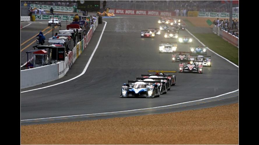 24 Stunden Rennen Le Mans: Audi gelingt zweiter Hattrick
