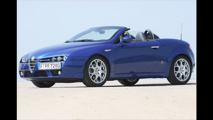 Test: Alfa Spider 2.2 JTS