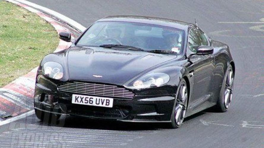 Spied: New Aston Martin DB9