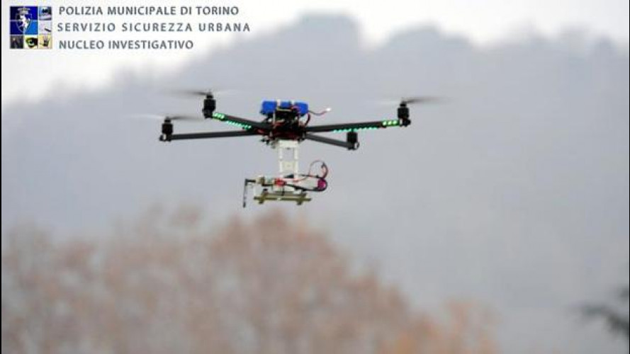 Droni poliziotto: di che si tratta