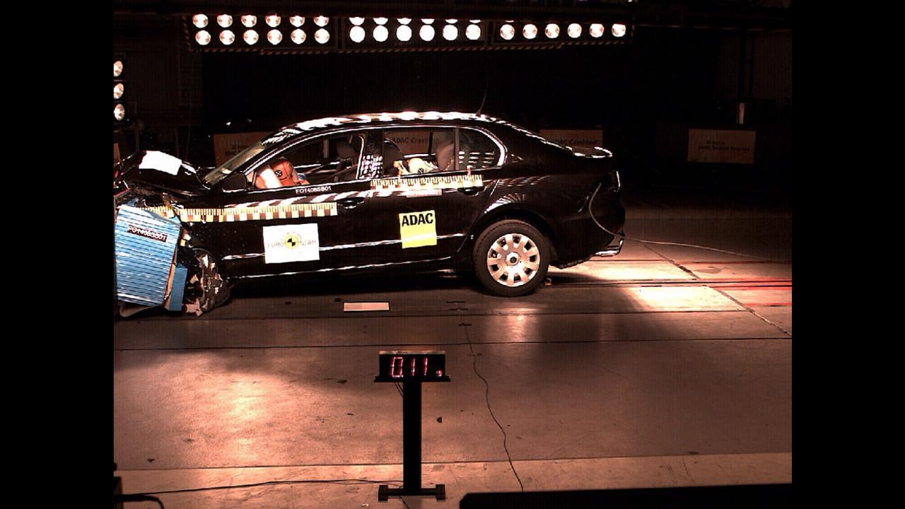 Crash Test nuova Skoda Superb