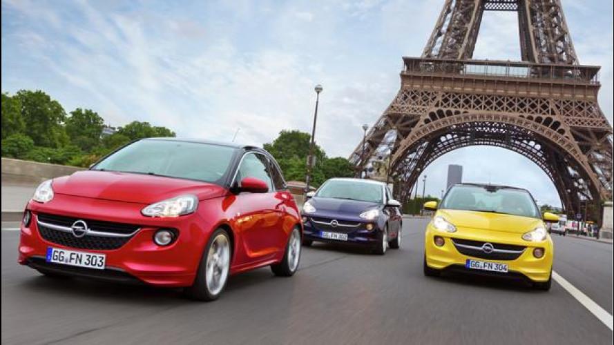 Opel Adam, listino prezzi da 11.750 euro