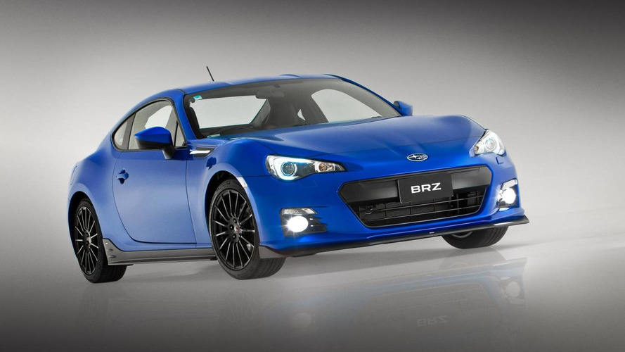 Subaru BRZ gets an STI concept sports kit – 2012 AIMS