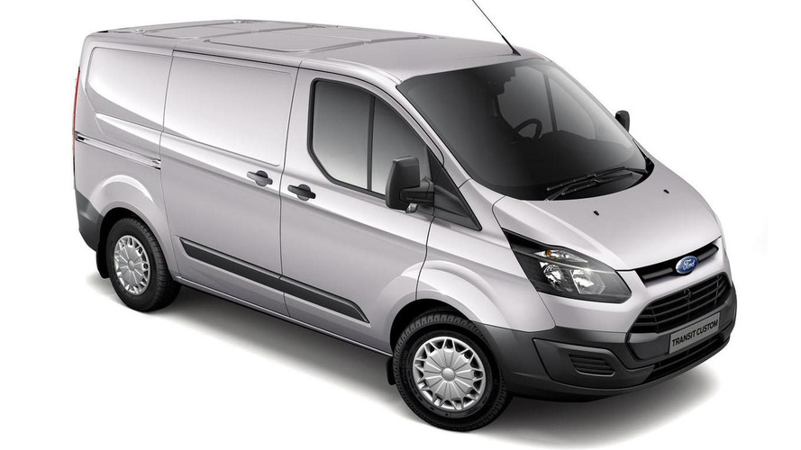 Ford Transit Custom ECOnetic introduced