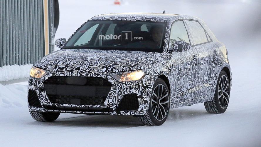 2019 Audi A1'in ilk casus fotoğrafları
