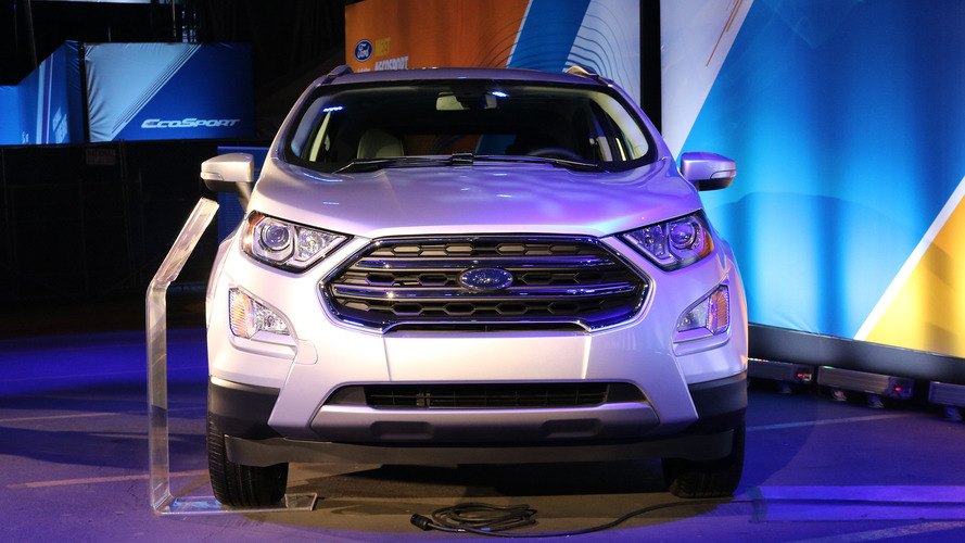 Ford EcoSport live photos