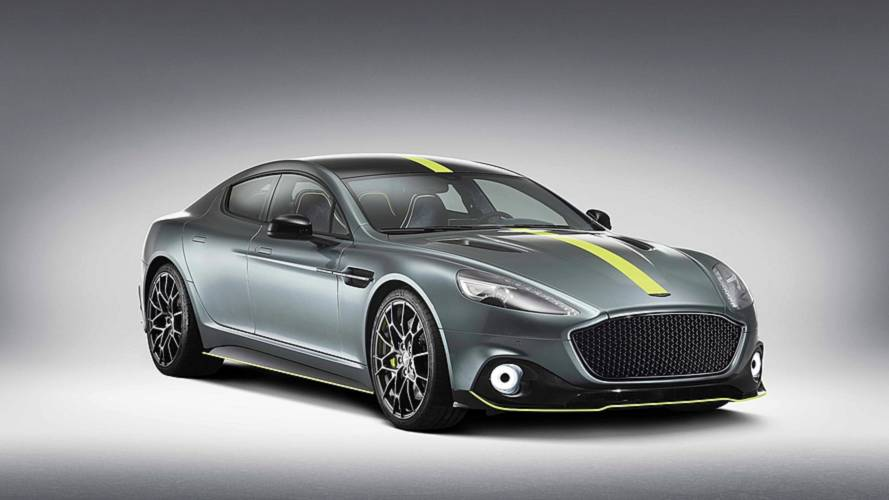 Aston Martin Rapide AMR  Packs 580 HP, Gets Carbon Fiber Body