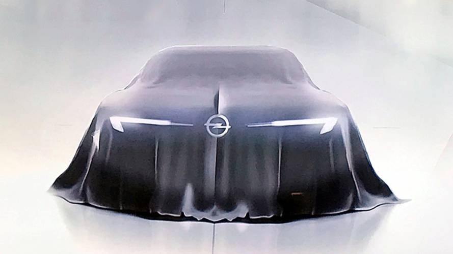 Opel GT Concept Teased