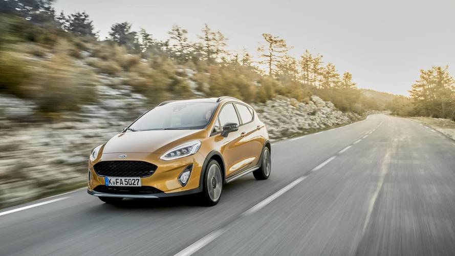 2018 Ford Fiesta Active on sale