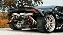 Modifiyeli 2017 Lamborghini Huracan LP 610-4