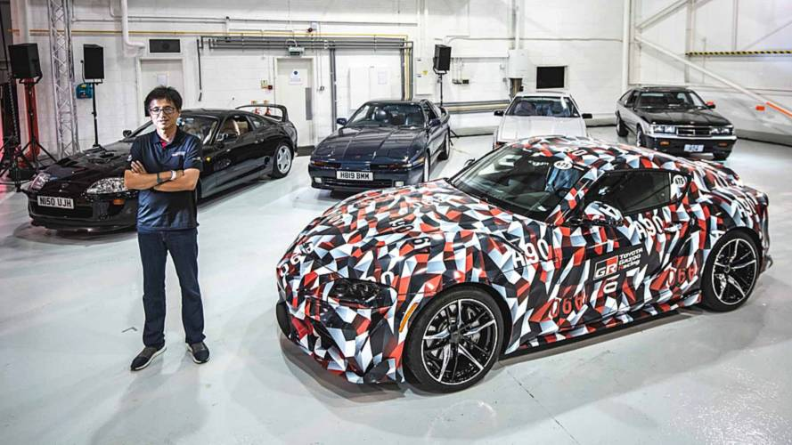 All Toyota Supra Generations Gather In UK For First Time