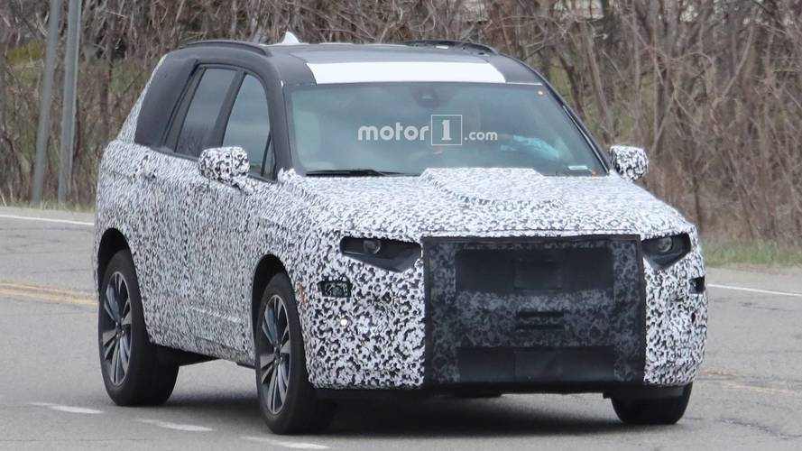 Cadillac XT6 Spy Photos