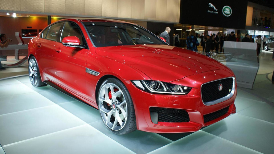 Jaguar XE S packs a 340 HP punch for Paris Motor Show