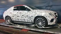 Mercedes-Benz MLC AMG spy photo / autoplus.fr
