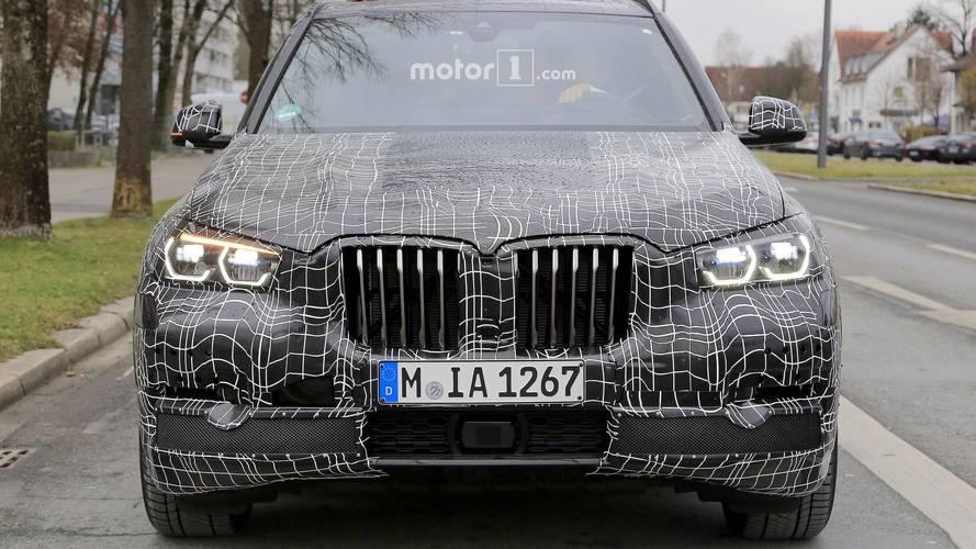 2018 BMW X5 new spy photos