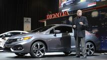 2014 Honda Civic Coupe live at SEMA 05.11.2013