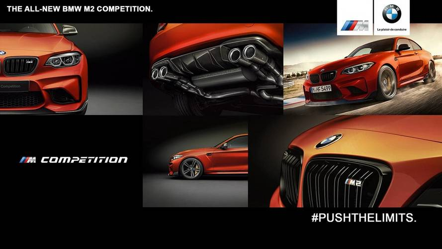 BMW M2 Competition illustrations
